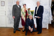 Михаил Кузнецов, Полина Аксенова, Борис Мосюр и Иван Шумило